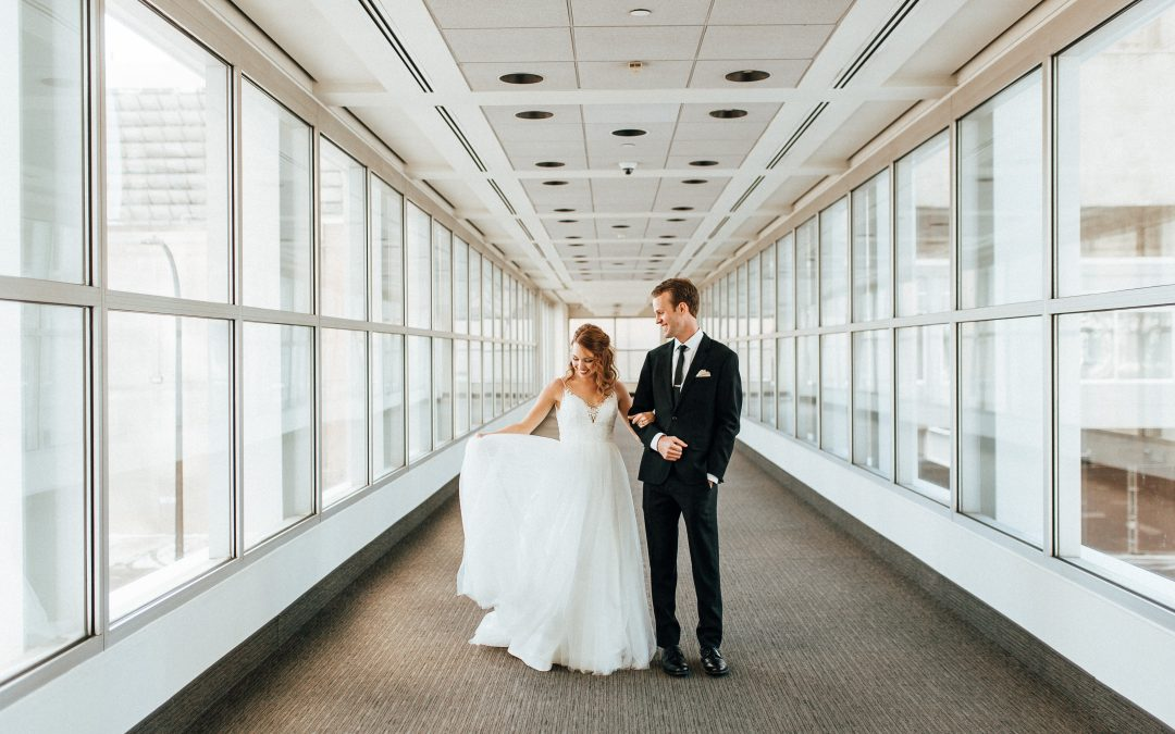 Minneapolis New Year's Eve Wedding | Marta & Luke