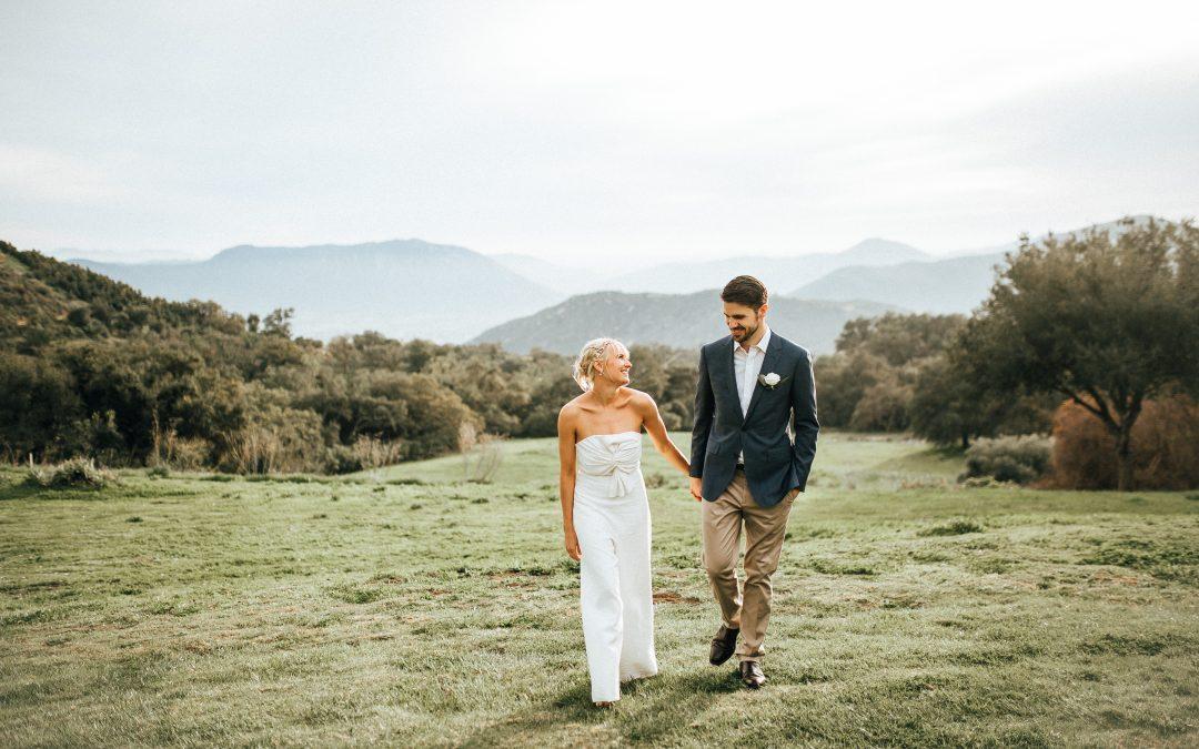 Casual Condor's Nest Ranch Wedding | Siena & Alex