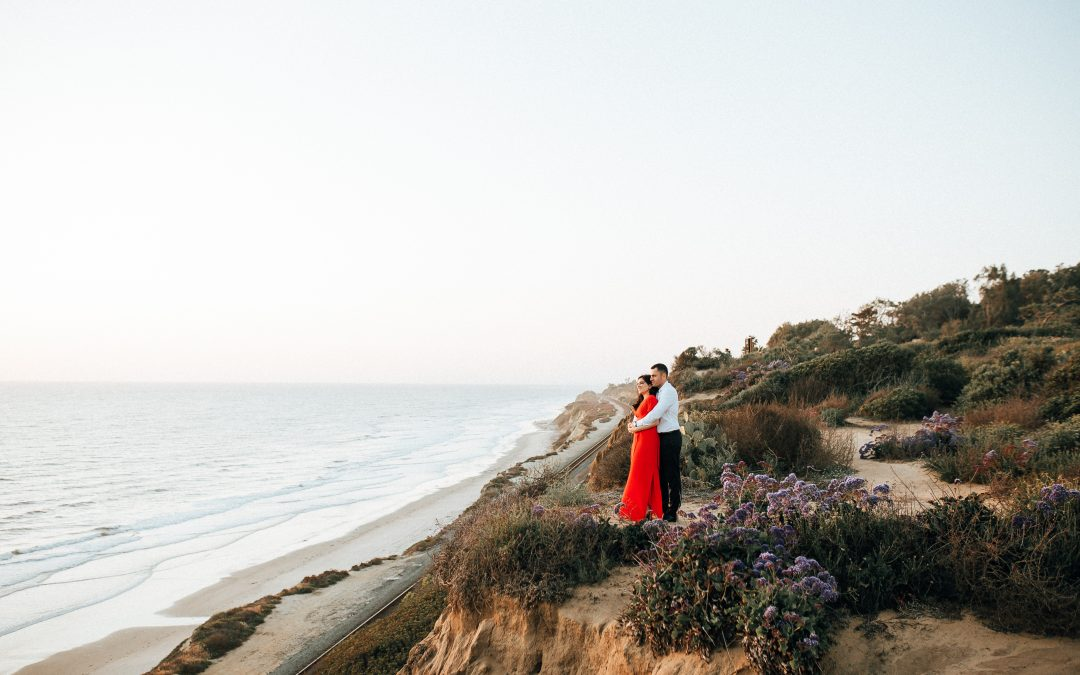 Torrey Pines Engagement Session | Lily & Ali
