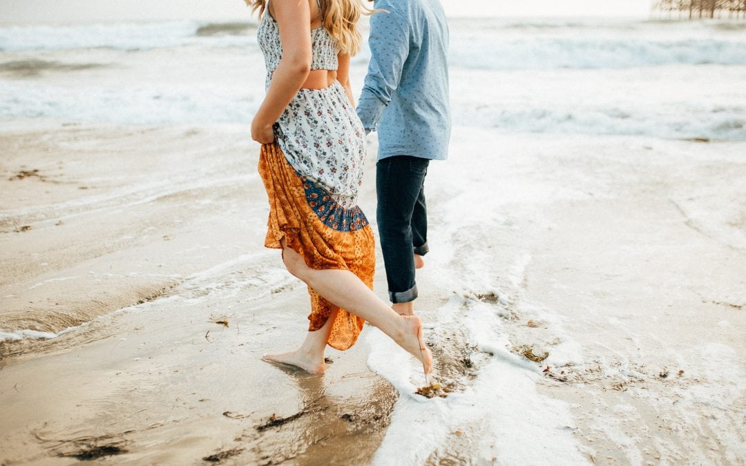 Crystal Pier Pacific Beach Engagement Session | Jocelyn & Matt