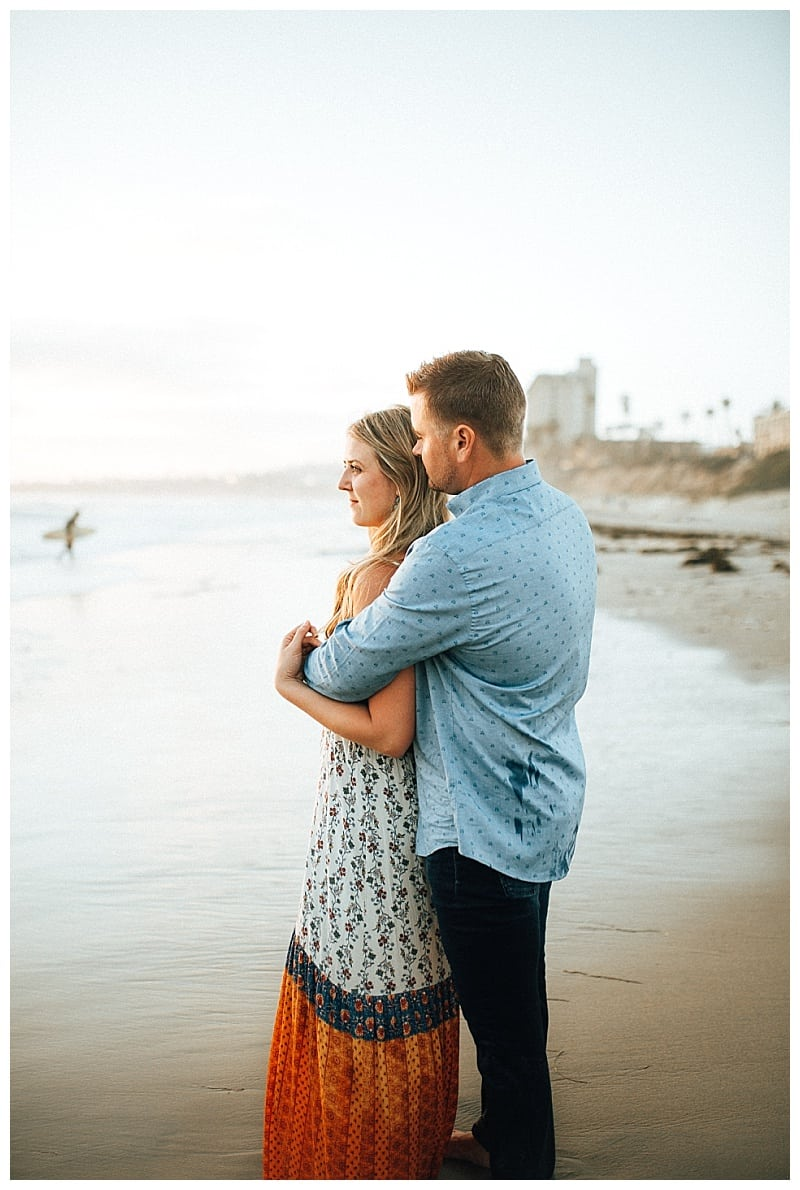 pacific beach engagement photographer