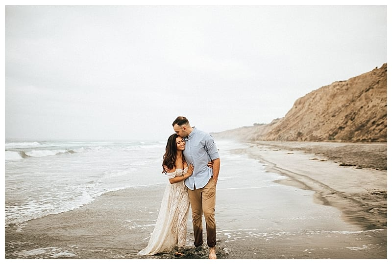 Blacks Beach Engagement Session, La Jolla  | Karina & Tyler