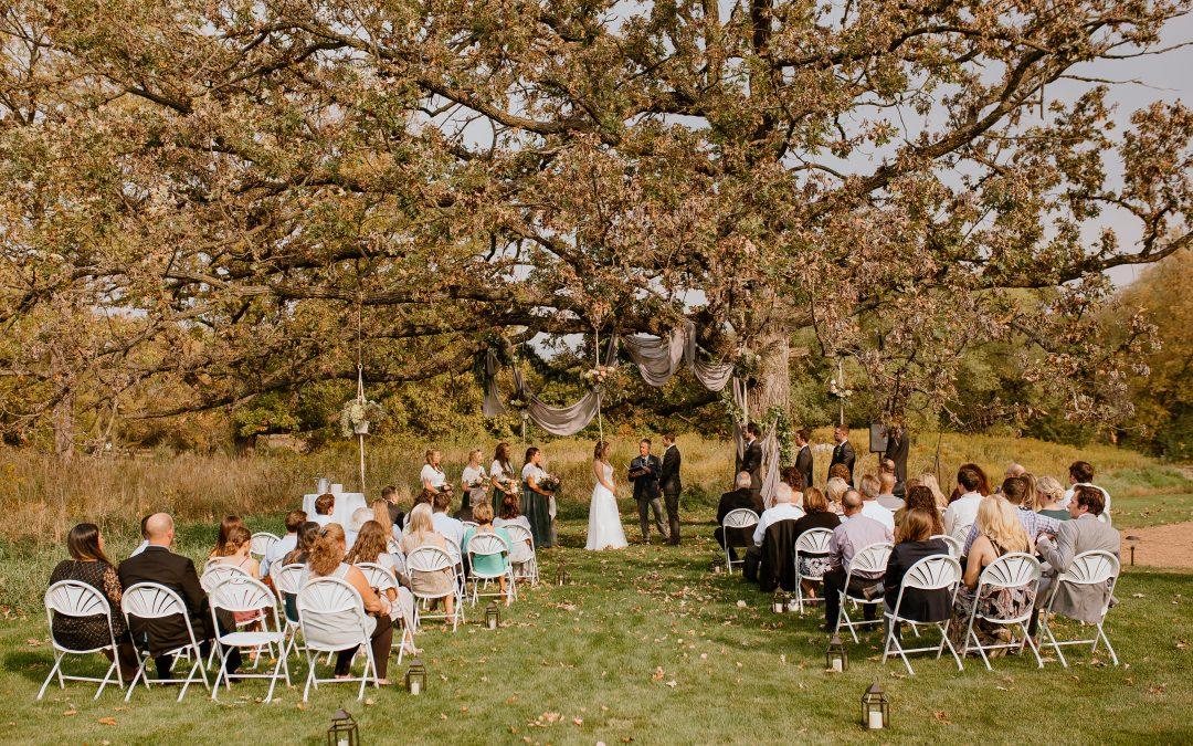 Intimate Wedding Stillwater Minnesota
